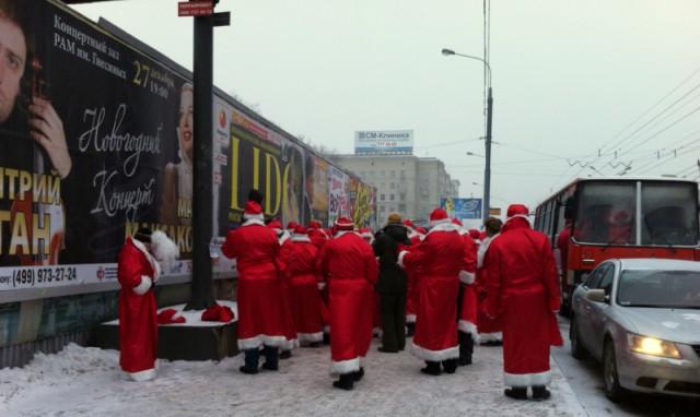 Деды Морозы в ассортименте