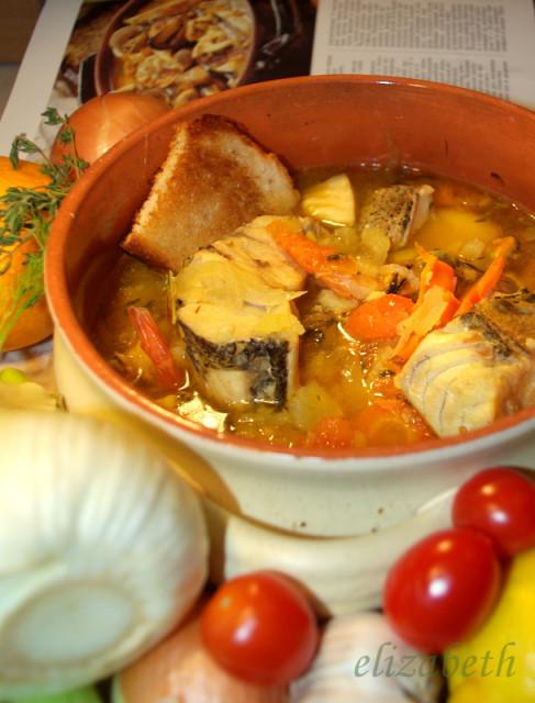 Рыбный суп а-ля буйабес