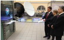 Открытие интерактивной инсталляции в Центральном музее связи им. А.С. Попова