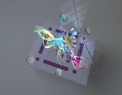 Спутник связи «опыляет» сигналом связи  антенны в виде «ромашек»