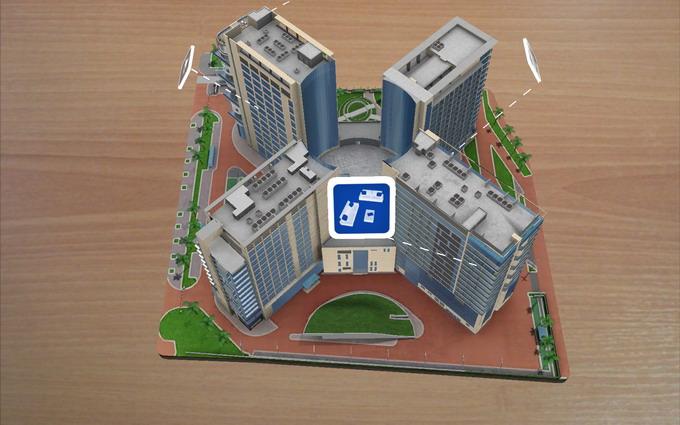 Кампус олимпийского Университета