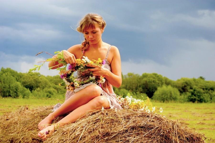 фото видео сельские девки