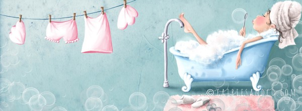 Facebook header Bubble Bath Fairy