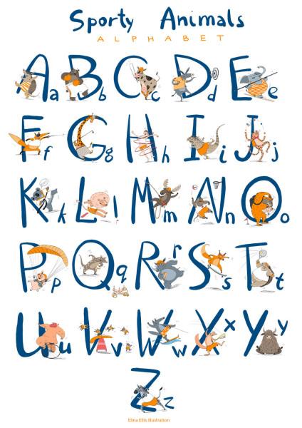 alphabet 1 s