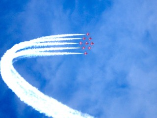 Red Arrows in Falmouth