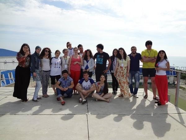 Анапа. Форум руководителей проектов в лагере Смена. 2013 год