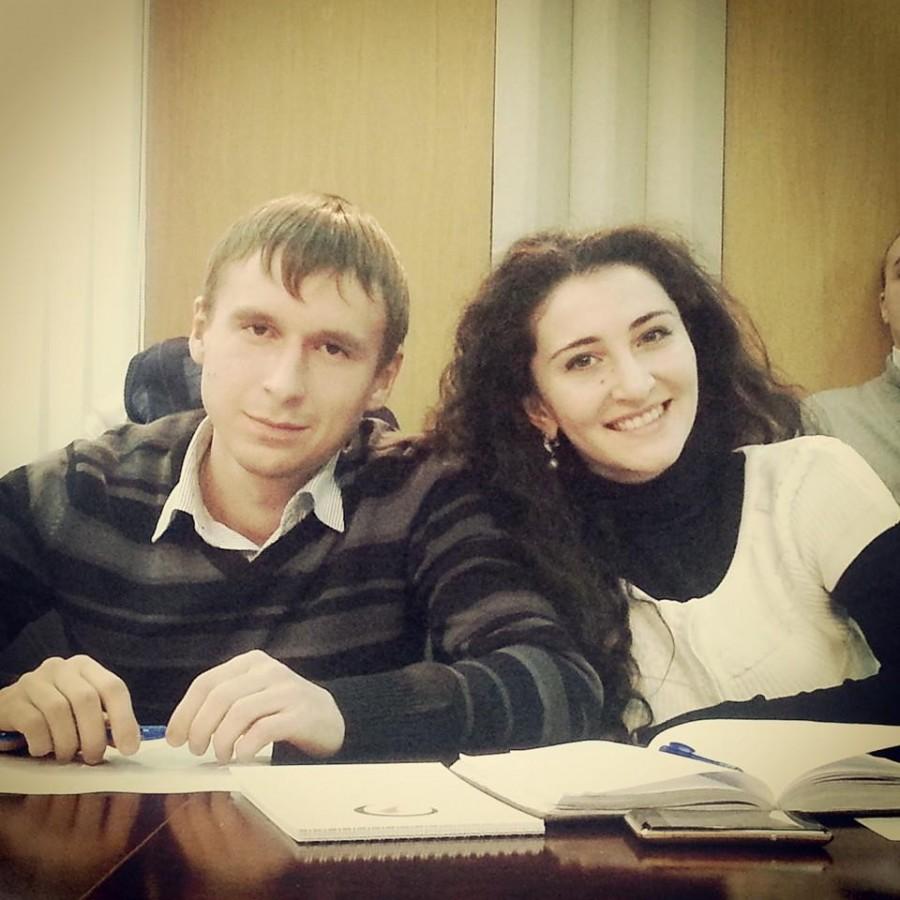 Андрей Попов и Залина Губурова