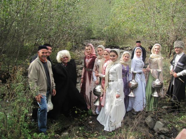 В Чечню приехали чеченцы из Израиля. Фоторепортаж