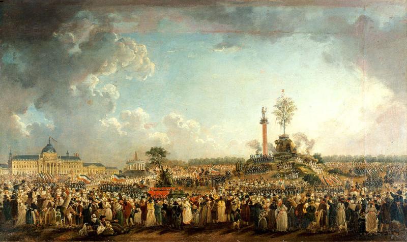 """Пьер-Антуан Демаши. """"Праздник Высшего Существа"""" (1794)"""