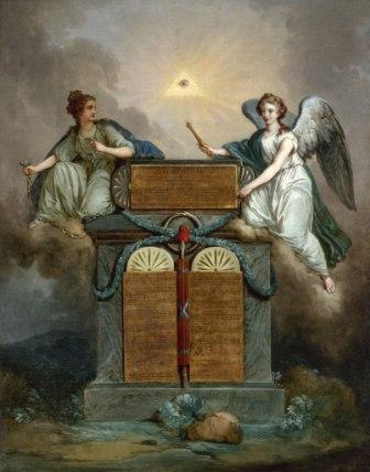 "Жан-Жак Франсуа Ле Барбье ""Декларация прав человека и гражданина"", 1789 год"