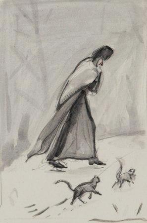 Рисунок нашей монахини