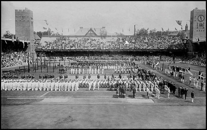 Открытие V Олимпийских игр (фото)