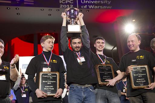 ACM ICPC World Champions 2012 -- SPbSU ITMO team
