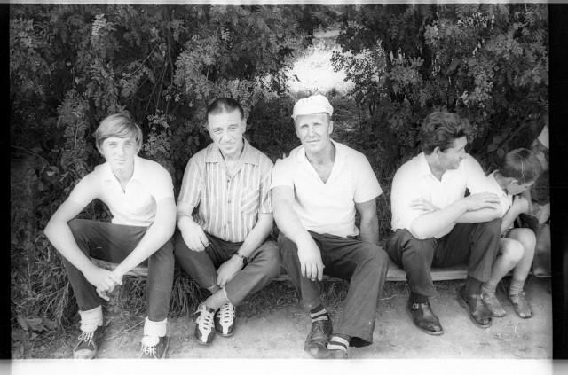 Пионерский лагерь Космос. 1973г. Родительский день.