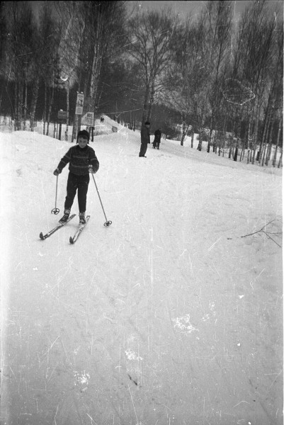 старые мытищи, карьер, зима, лыжи