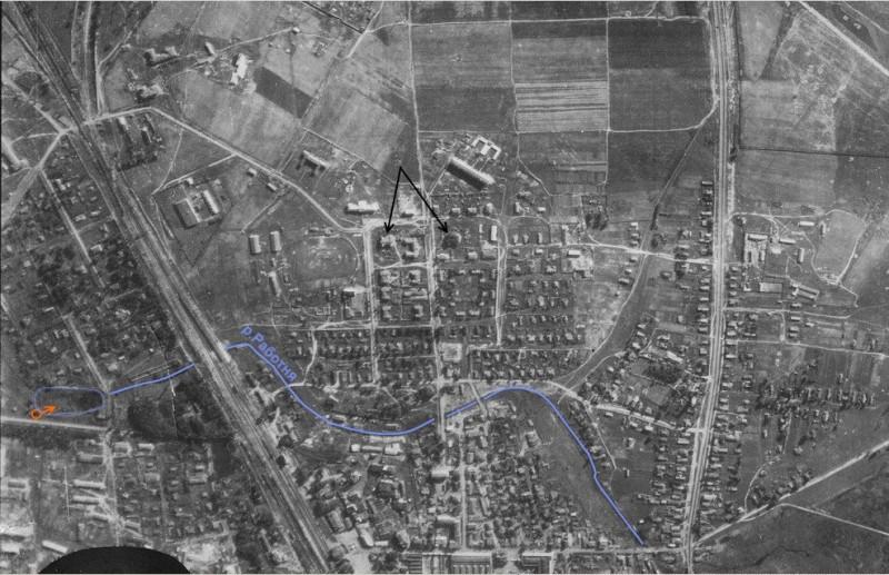 1942 Мытищи фото аэро ул Коминтерна 16 подписи.jpg