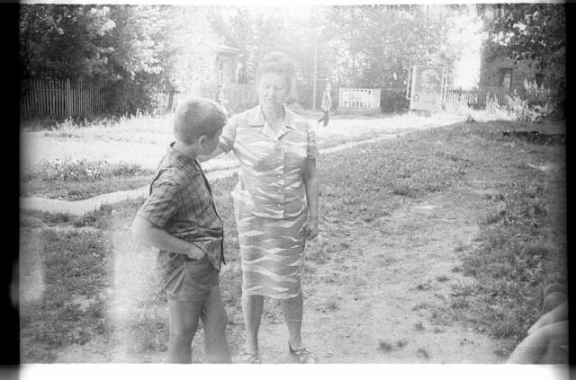 Пионерский лагерь Космос, Тишково, 1973г. Родительский день.