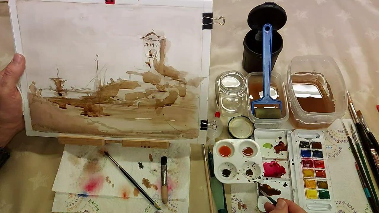 урок живописи