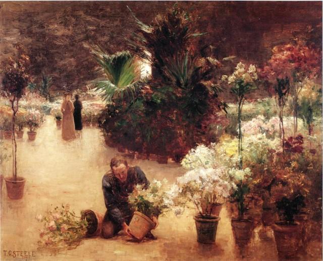 Flower Mart-1890