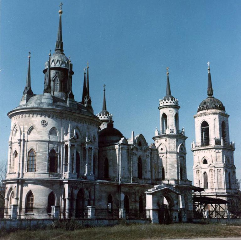 церковь владимирской иконы в быково