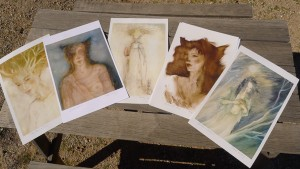 Set of prints