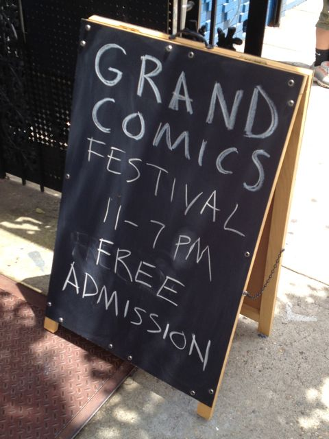 Grand Comics Festival by Pat Dorian and Bird River Studios