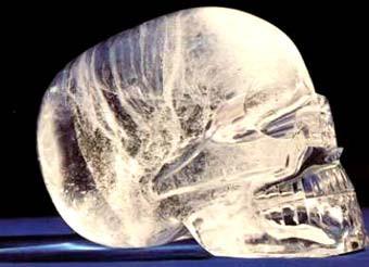 Хрустальный череп из Белиза