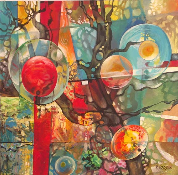 Life After Life Acrylic Canvas 48X48 2007