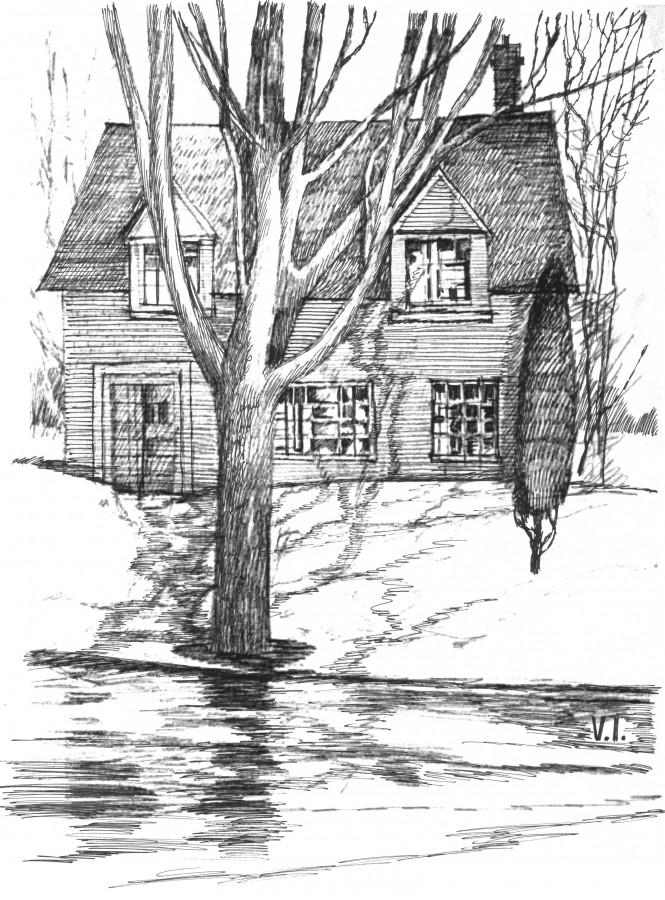 CHAPTER 32 PICTURE11 CANADIAN HOME WITH A TREE