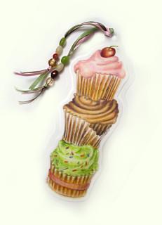 cupcakes bookmark