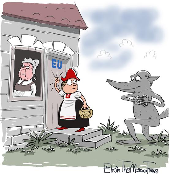 Елкин,карикатуры