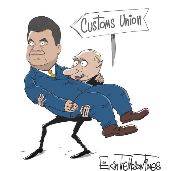 Путин дал денег Януковичу