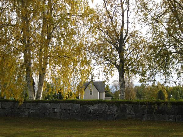 Кладбище в Швеции