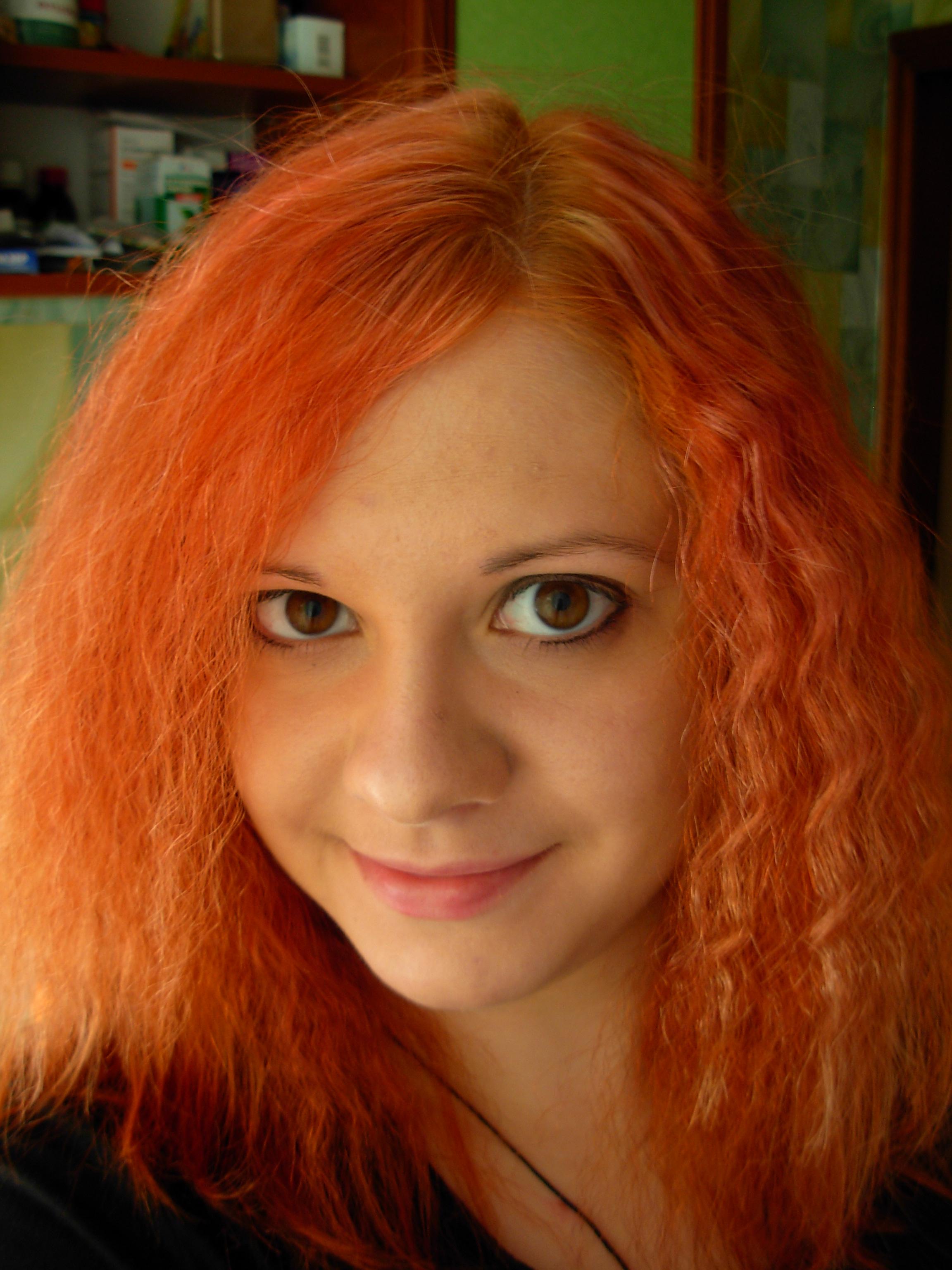 Краска для волос рыжий цвет волос фото