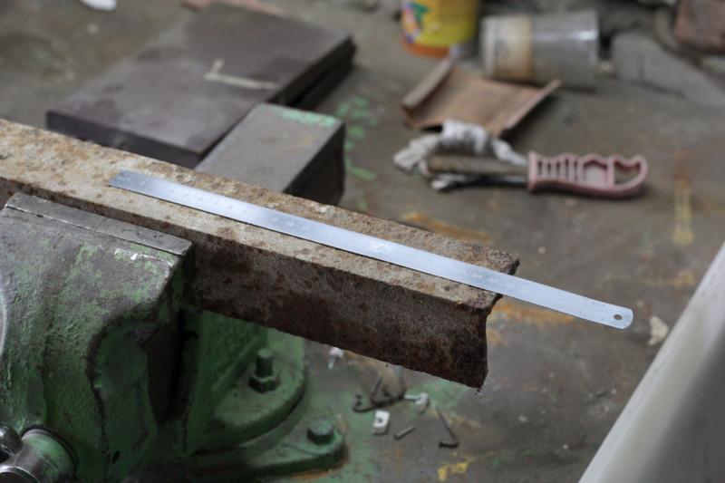 Заготовка подручника - уголок с полкой 60 мм
