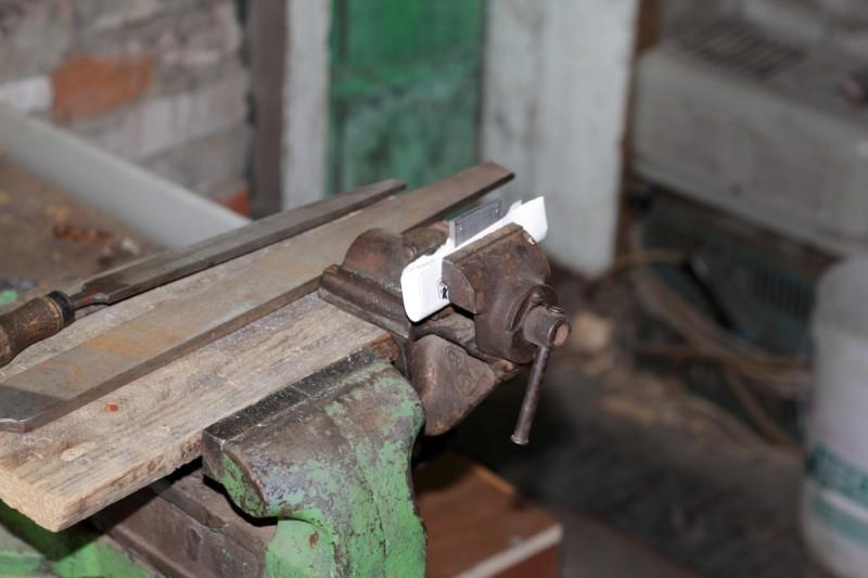 Изготовление крепёжных пластин для ножек