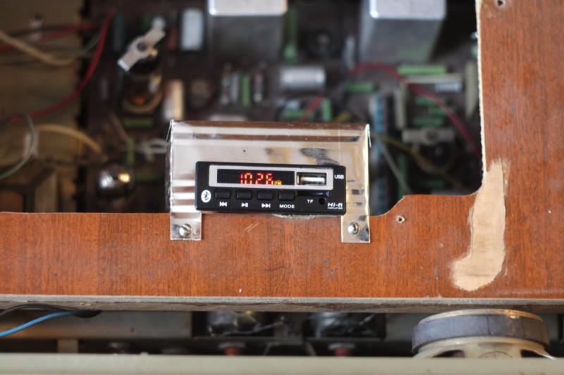 Панель для FM-блока на месте ЭПУ