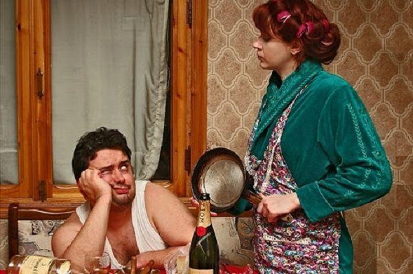 Подлая подстава от жены, или так и нужно учить мужа алкоголика?
