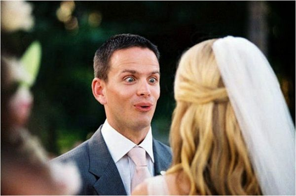 До свадьбы все в норме было, а потом невесту перекосило. Реальная история