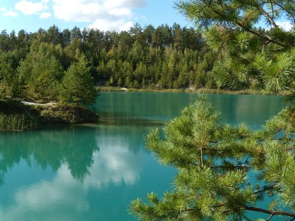 голубое озеро золотово рыбалка