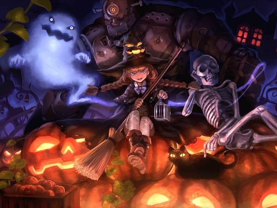 А погодка-то как раз для Хэллоуина