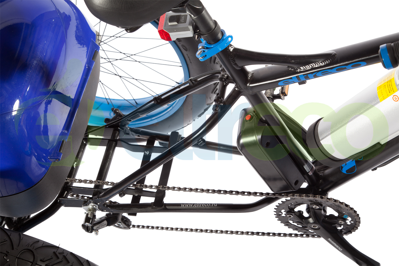 Eltreco Fat Bike 500W 3