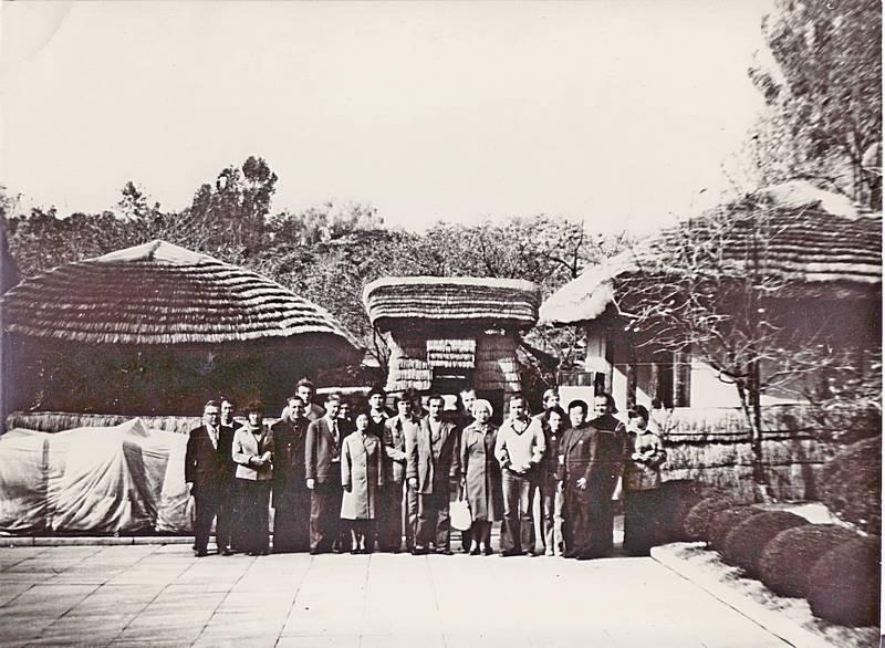 Октябрь 1980 г. г. Пхеньян. КНДР. Домик Ким Ир Сена