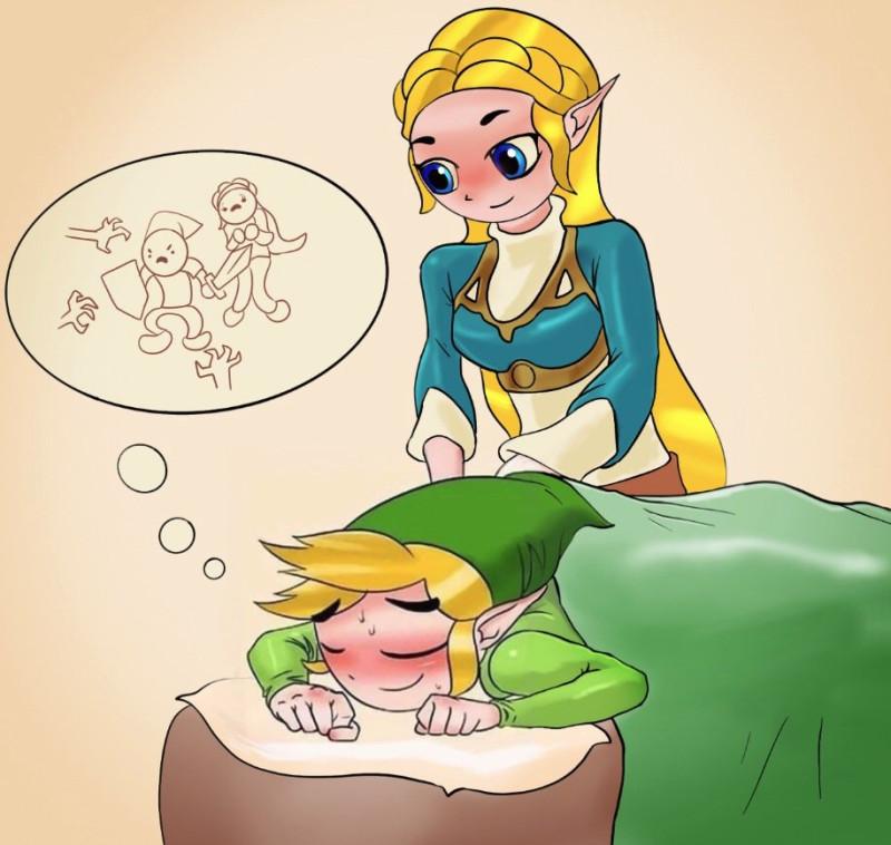 Линк и Зельда