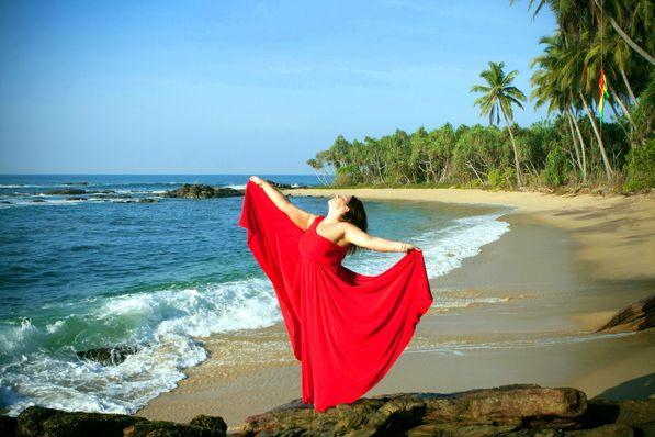One Summer Day.Morning in Sri Lanka.