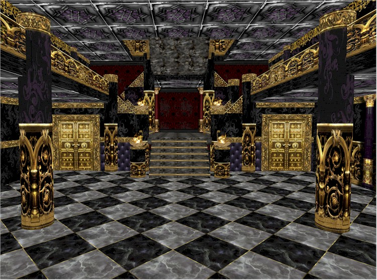 EbE The Royal Goth Mansion - Grand Entrance Hall2