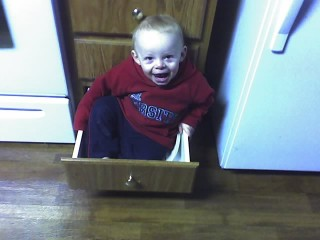in the drawer