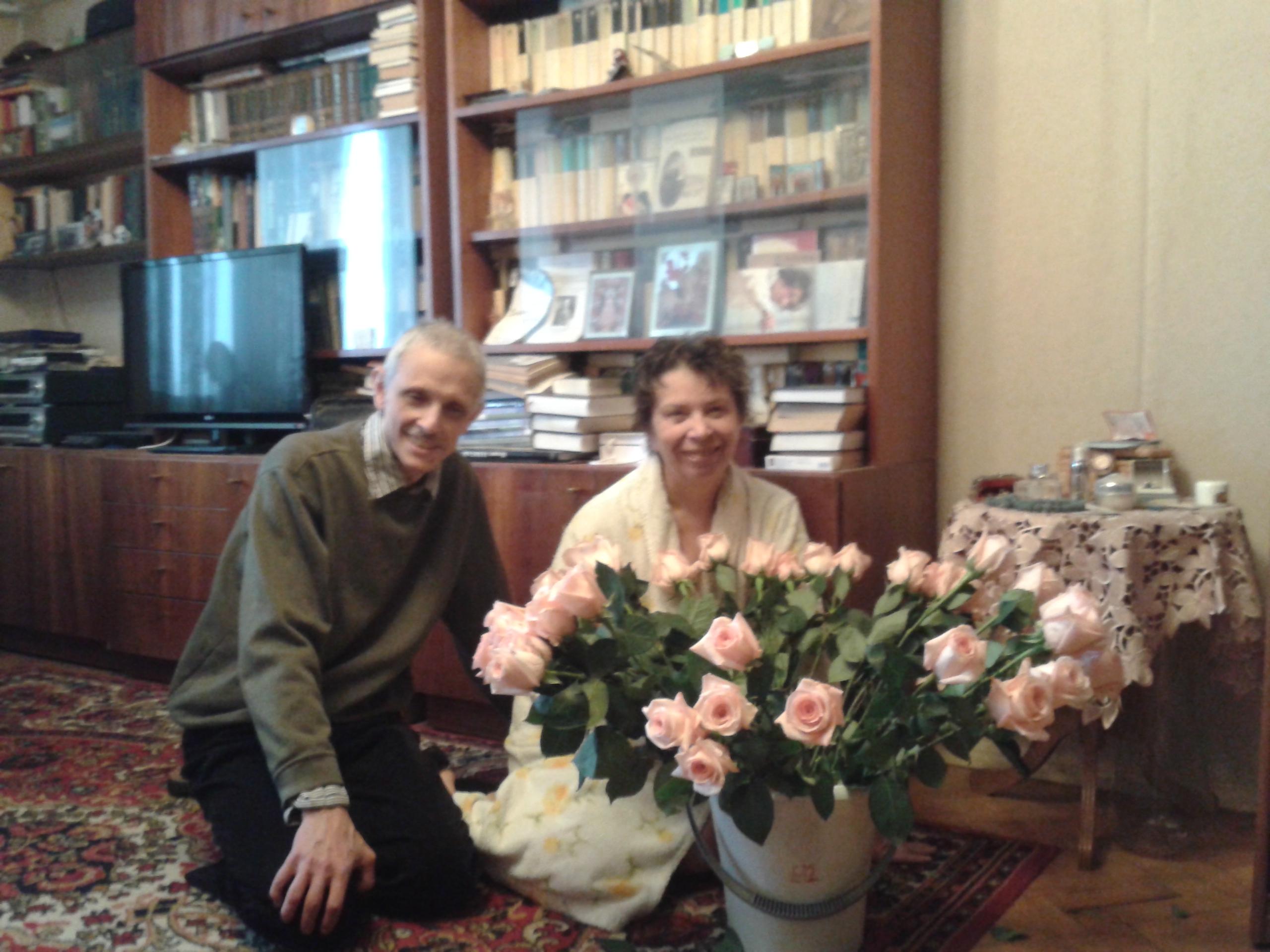 Лена и Леня 21 декабря 2013