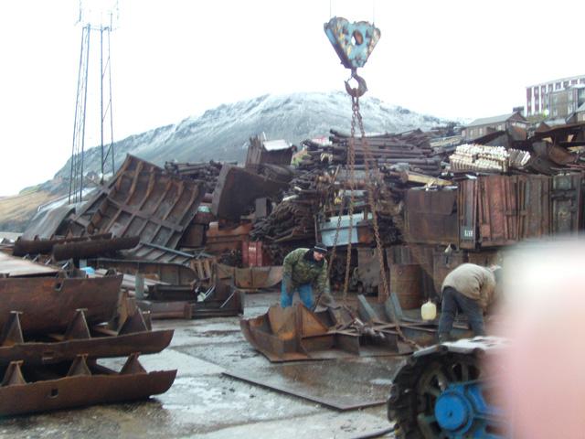 Barentsburg scrap heap 4