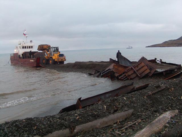 Kohls bay barge